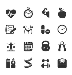 Medicine icon3 vector image vector image