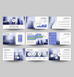multipurpose business presentation vector image vector image