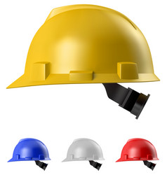 Safety helmet vector
