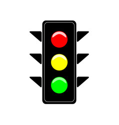 Stoplight sign vector