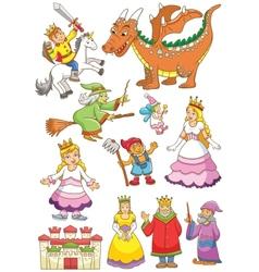 Fairyset vector image