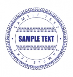 guilloche print vector image