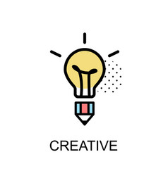Creative graphic icon vector