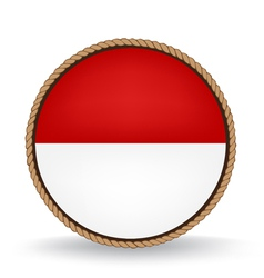 Indonesia seal vector