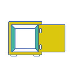 Strong box object open to protection vector