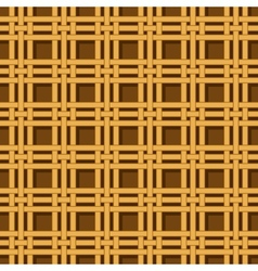 wicker basket weaving pattern seamless texture vector image