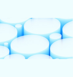 3d white blue background eps10 vector image vector image