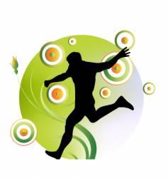 sport art vector image