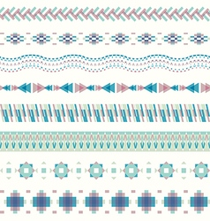 Seamless pattern in modern style vector image vector image