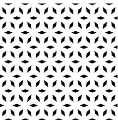 simple geometric ornament vector image vector image