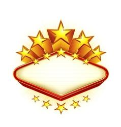 Winner emblem vector