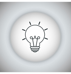 Light bulb icon energy icon graphic vector