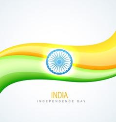 Indian flag design vector