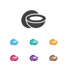 Of kitchenware symbol on vector