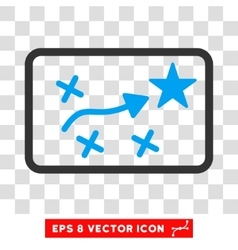 Route plan eps icon vector