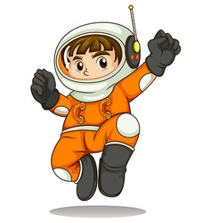 An astronaut vector