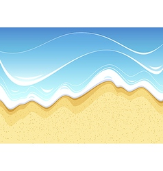 Sea beach vector