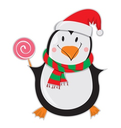 Happy Penguin vector image