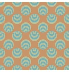 Polka dot and circle geometric seamless pattern 59 vector image