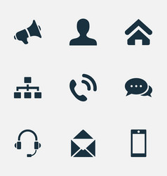 Set of simple communication vector