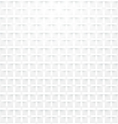 Modern white background - seamless vector
