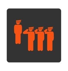 Army icon vector image