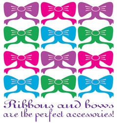 Perfect accessories vector