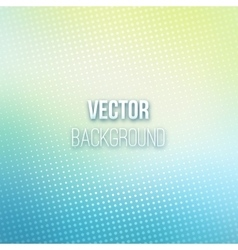 Abstract Blurred Background With Halftone Effect vector image vector image