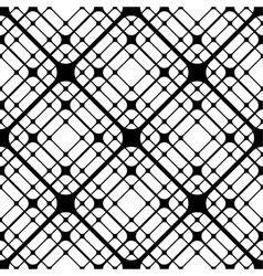Repeating geometric tiles squares seamless pattern vector image vector image