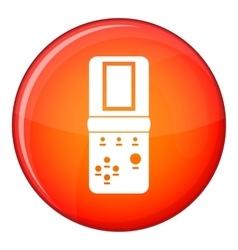 Tetris icon flat style vector