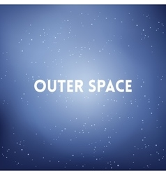 Square blurred background - space sky colors with vector