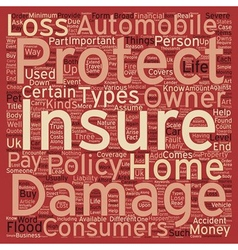 Why is insurance important text background vector