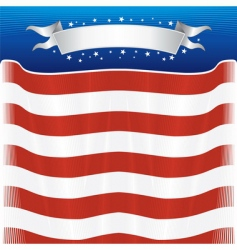American template vector image