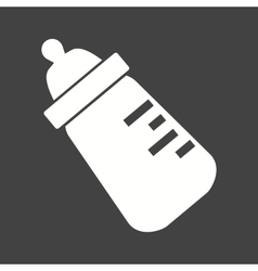 Milk Bottle II vector image vector image