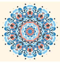 Oriental mandala motif vector