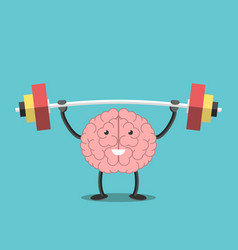 Strong brain with barbell vector