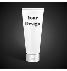 Tube for Cosmetic Package vector image vector image
