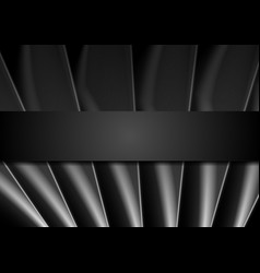 Dark abstract monochrome background vector