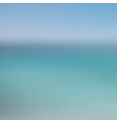 Abstract blurred background sky and sea vector