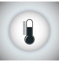 Thermometer icon science and medical design vector