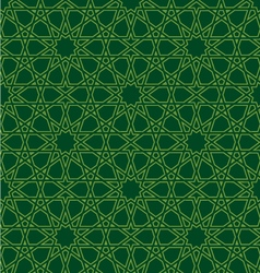 Seamless geometric pattern repeating background vector