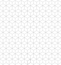 Abstract minimalistic geometrical design vector image vector image