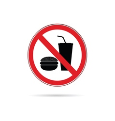Food and drink sign vector