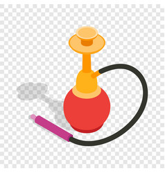 Hookah isometric icon vector