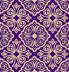 Islamic asia background Pattern ramadan seamless vector image vector image