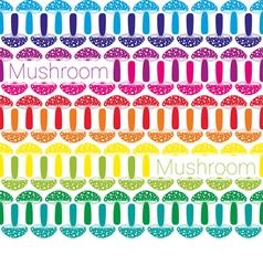 Mushrooms vector