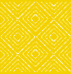 White and yellow paint dot summer pattern vector