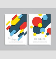 Design brochure layout vector