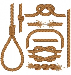 Rope collection vector