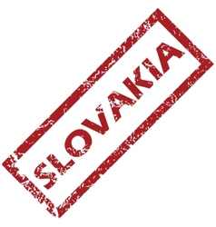 New slovakia rubber stamp vector